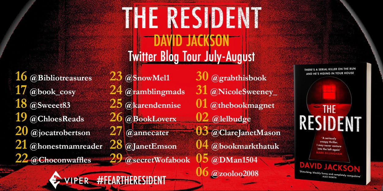 The Resident tour banner
