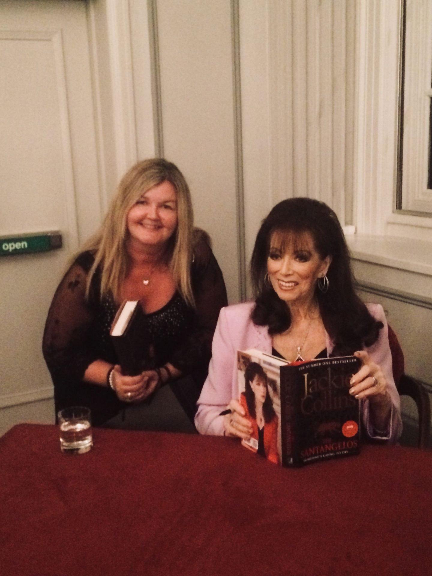 Annette Hannah & Jackie Collins
