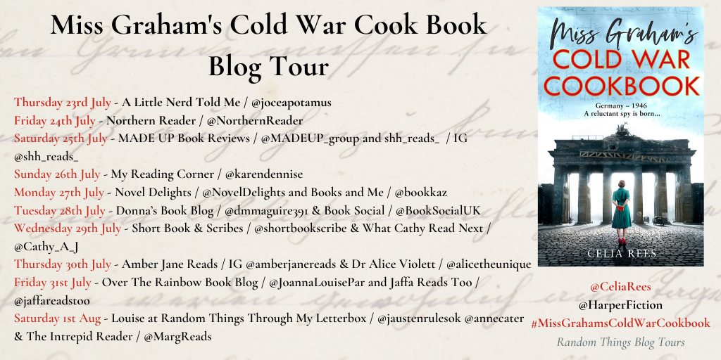 Miss Graham's Cold War Cookbook tour banner