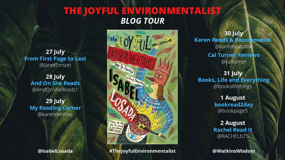 The Joyful Environmentalist banner