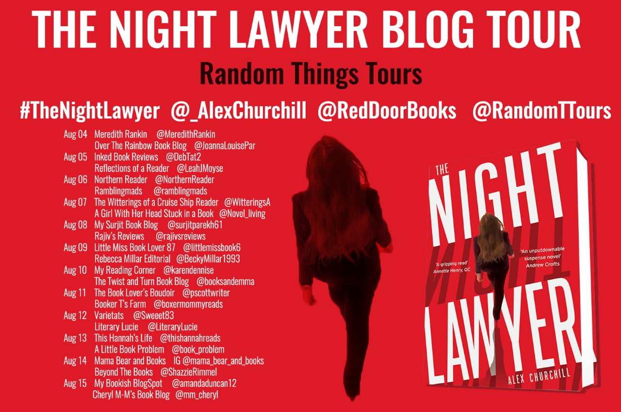 The Night Lawyer tour banner
