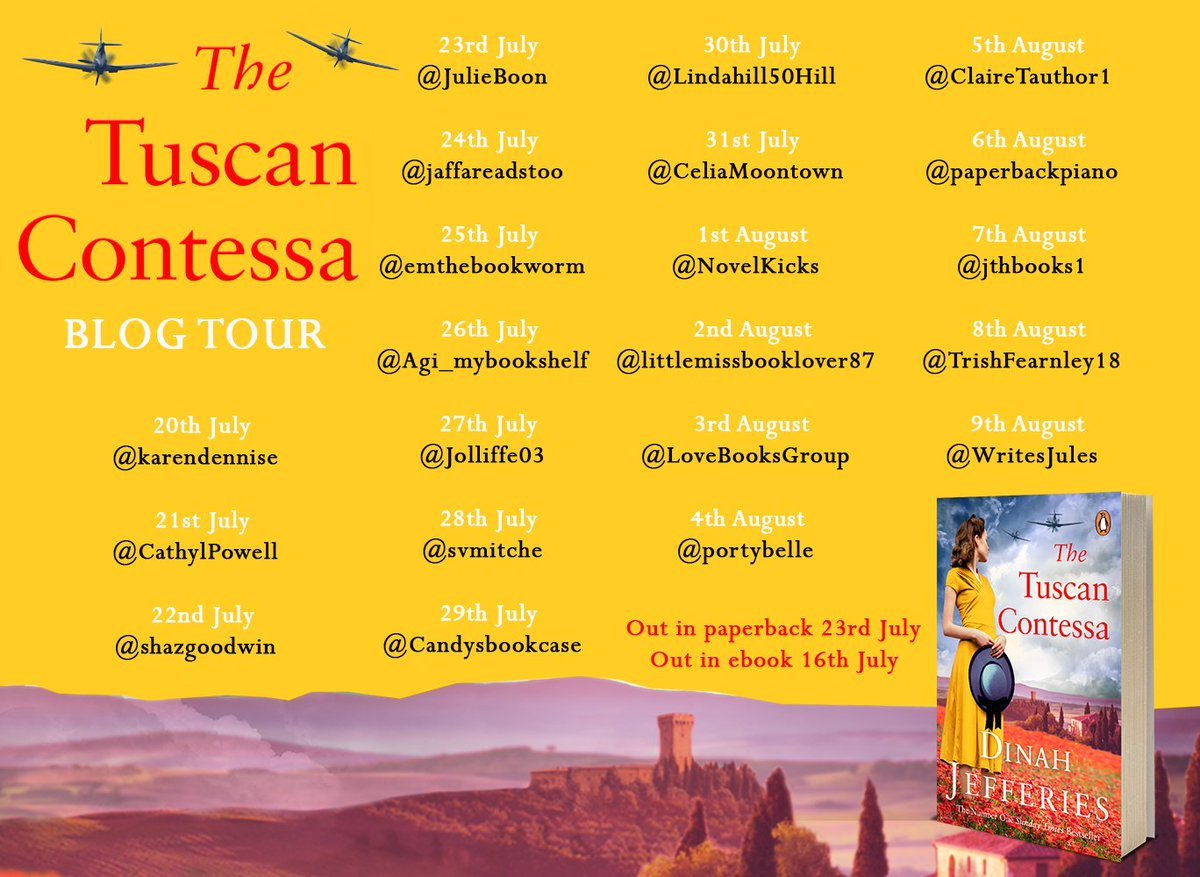 The Tuscan Contessa tour banner