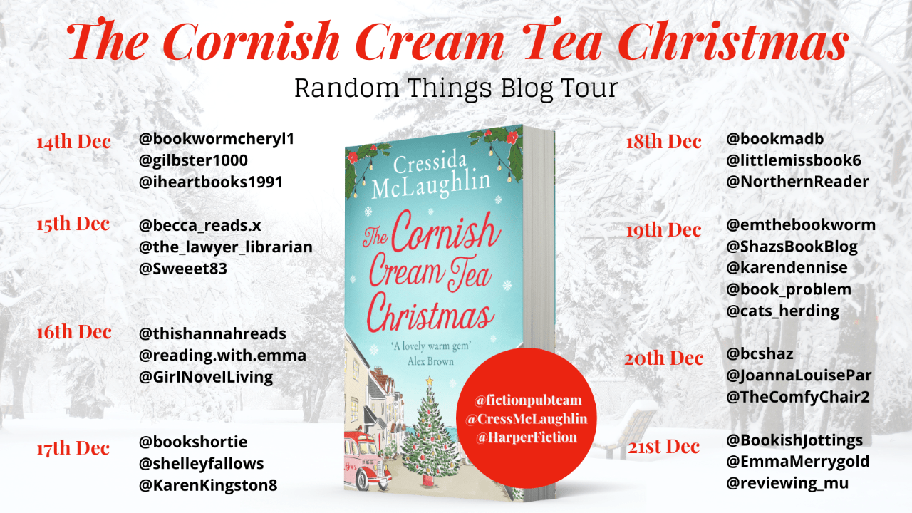 The Cornish Cream Tea Christmas – Cressida McLaughlin