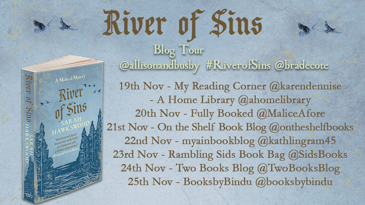 River of Sins – Sarah Hawkswood