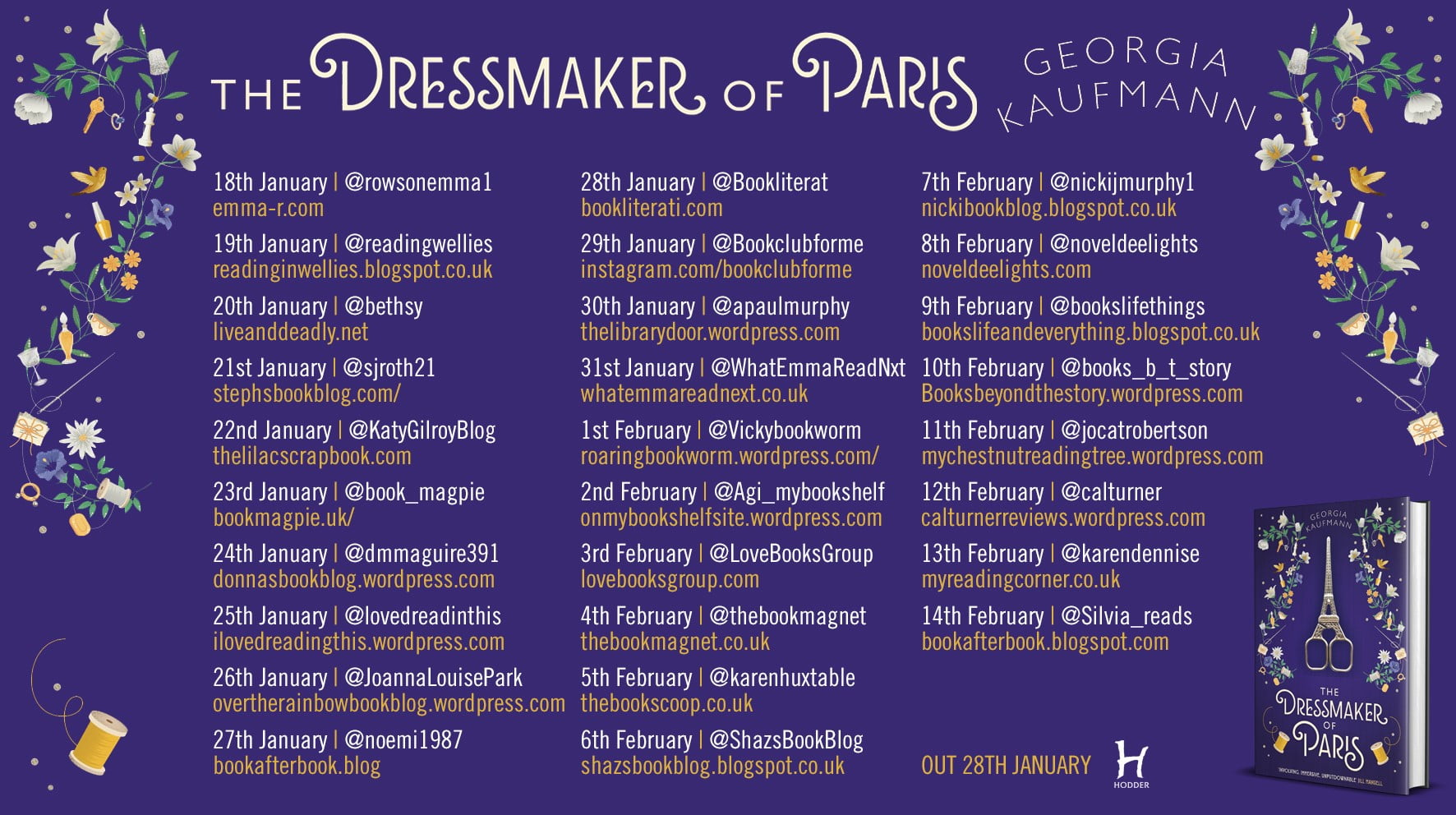 The Dressmaker of Paris – Georgia Kaufmann