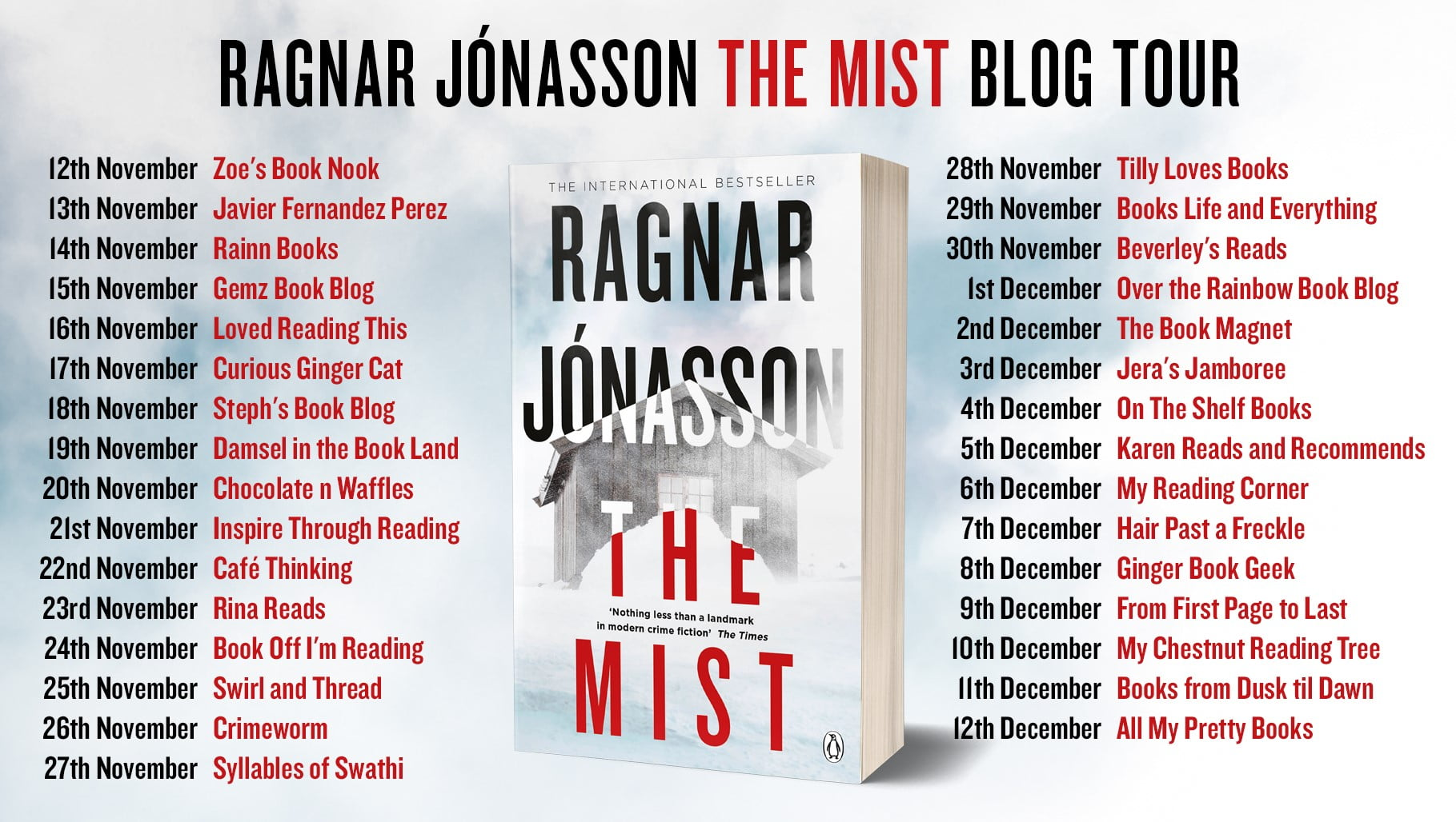 The Mist – Ragnar Jonasson