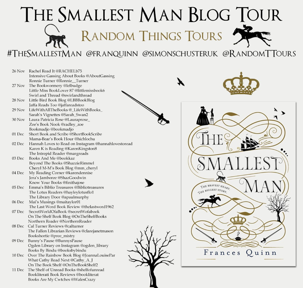 The Smallest Man – Frances Quinn