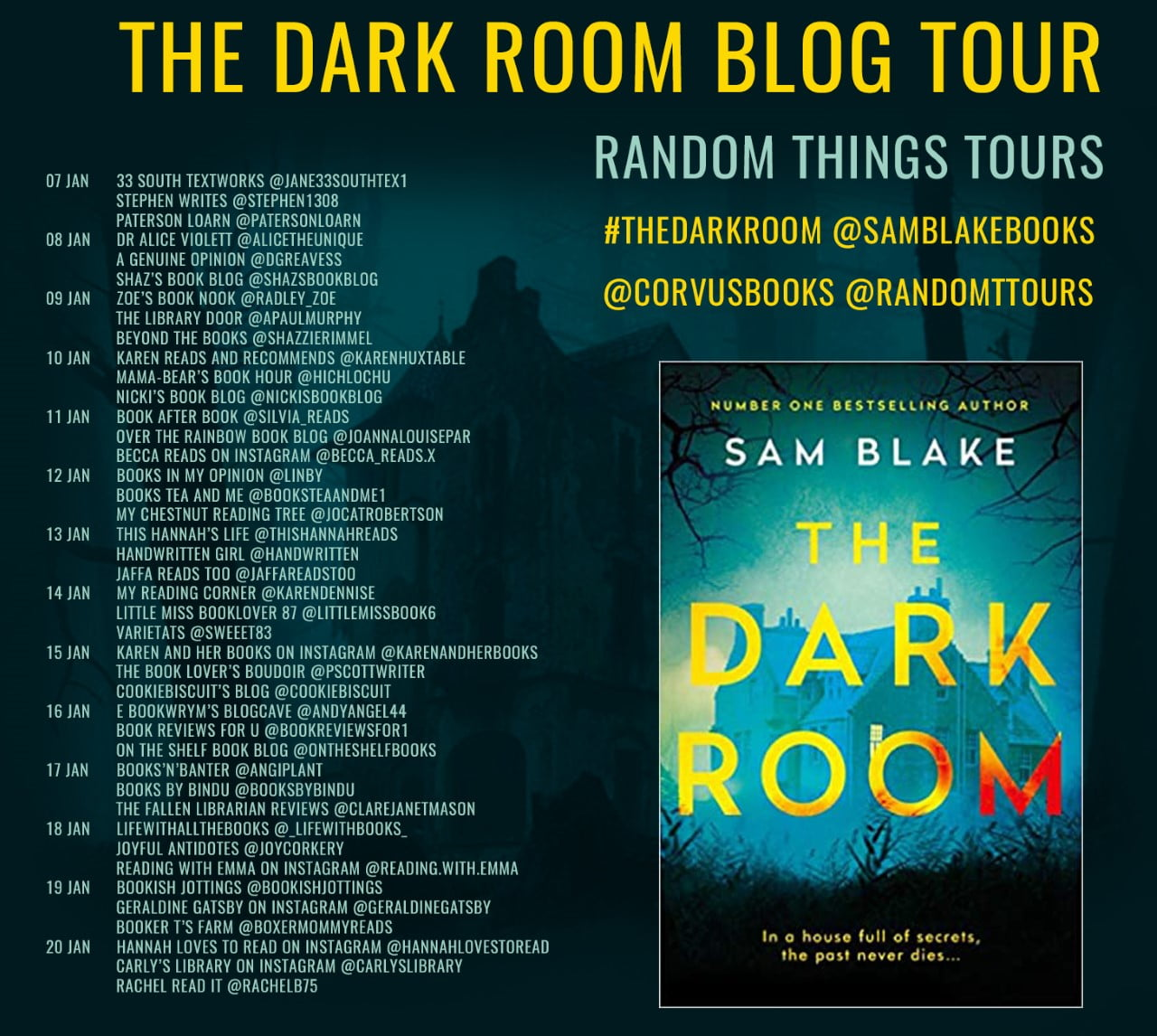 The Dark Room – Sam Blake