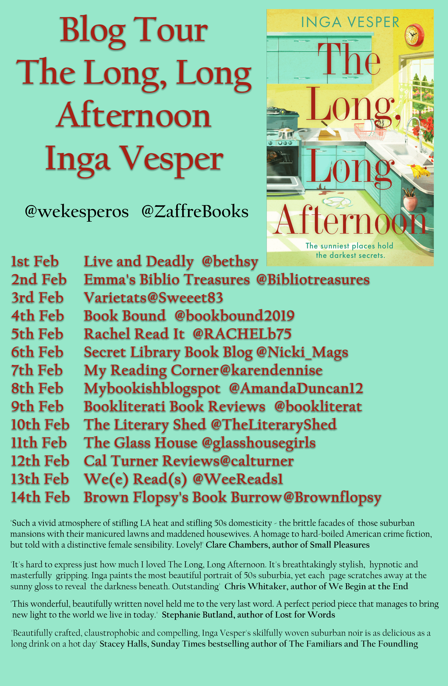 The Long, Long Afternoon – Inga Vesper