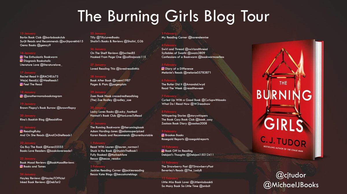 The Burning Girls – C J Tudor