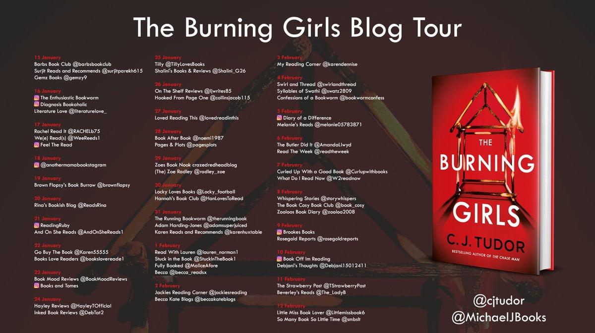 The Burning Girls – C J Tudor