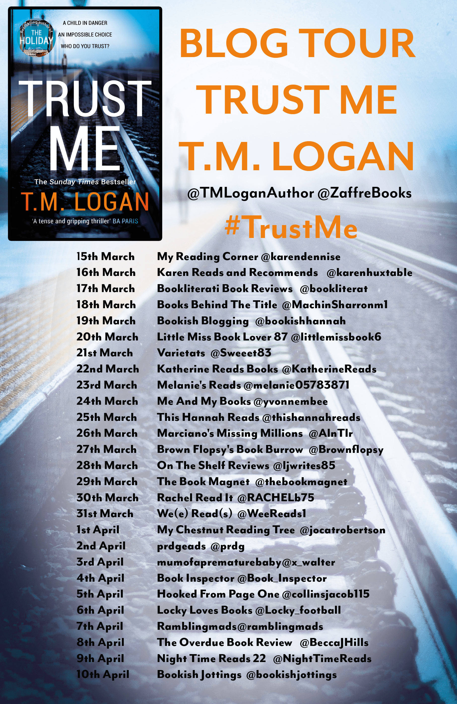 Trust Me – T M Logan