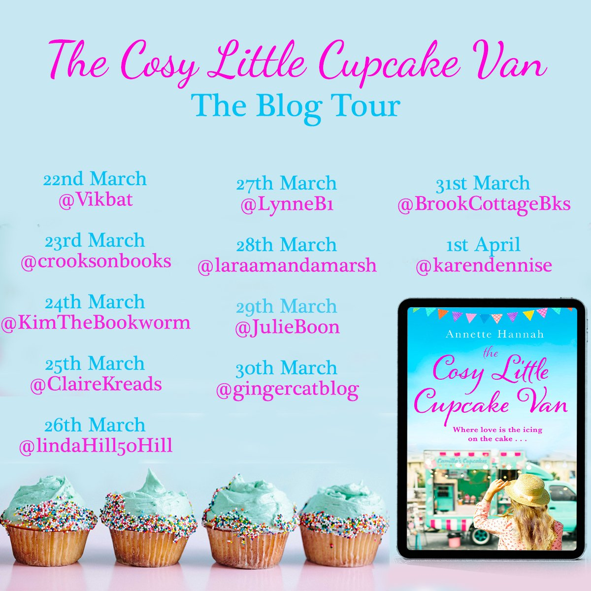 The Cosy Little Cupcake Van – Annette Hannah