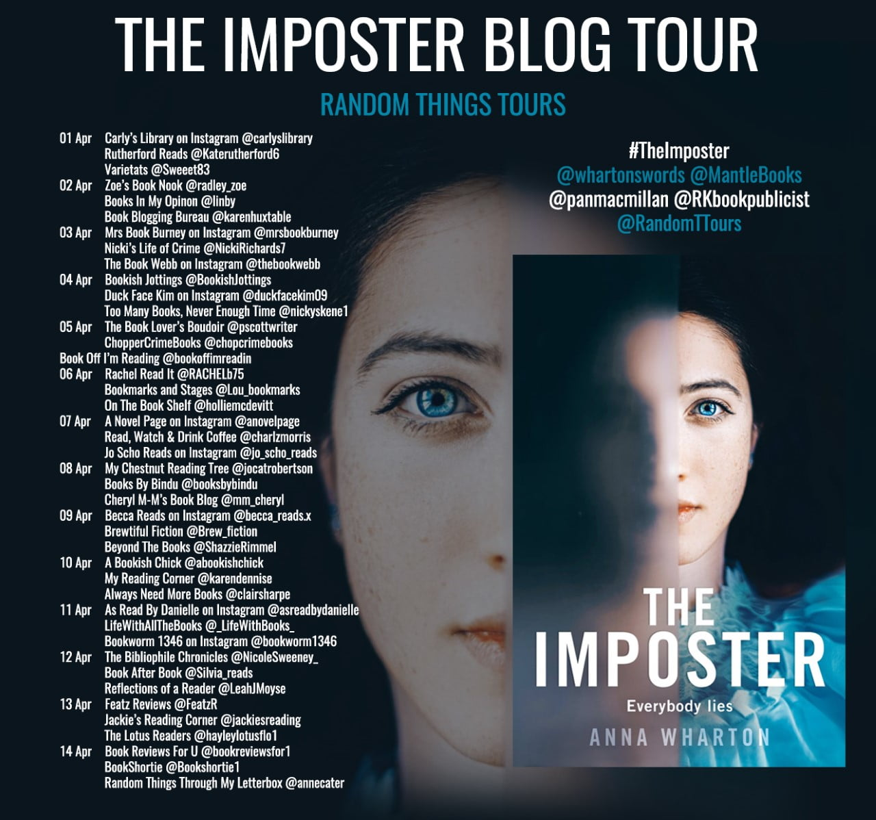 The Imposter – Anna Wharton