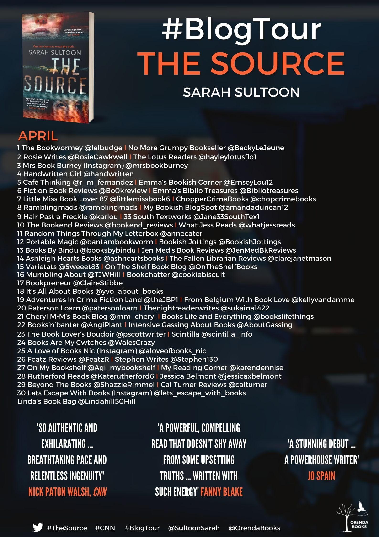 The Source – Sarah Sultoon