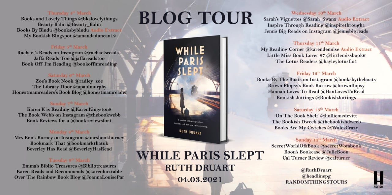 While Paris Slept – Ruth Druart