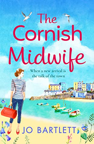 The Cornish Midwife by Jo Bartlett | Book Review #TheCornishMidwife