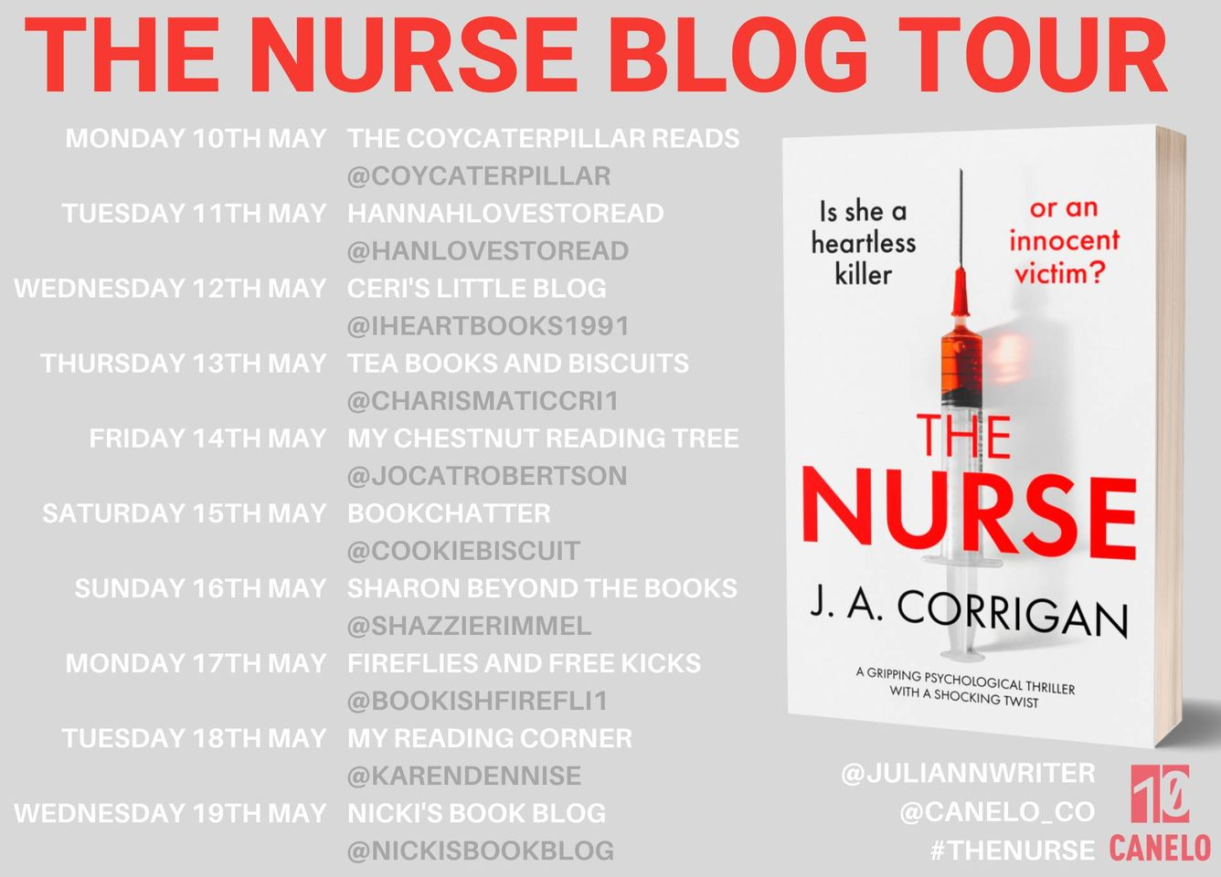 The Nurse – J A Corrigan