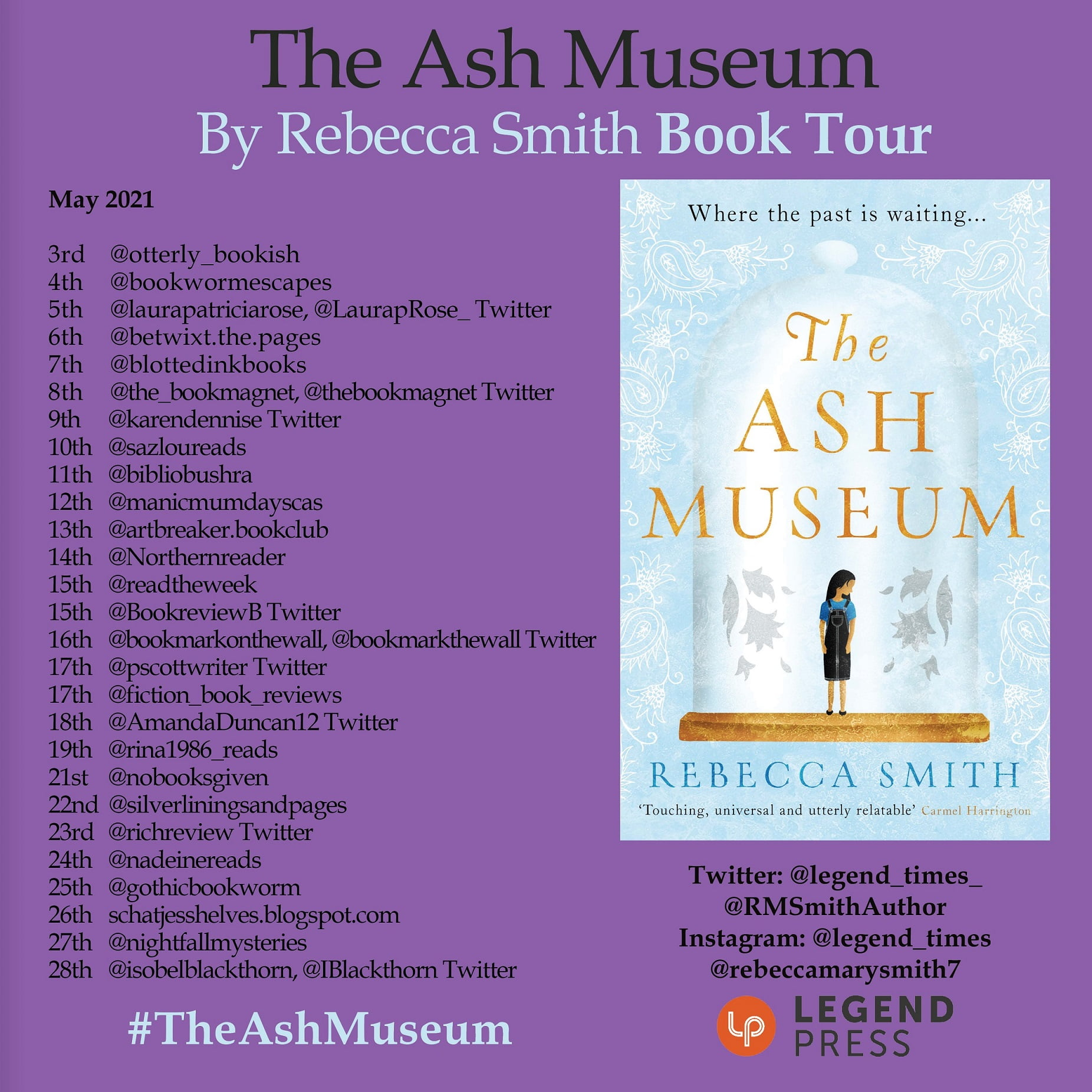 The Ash Museum – Rebecca Smith