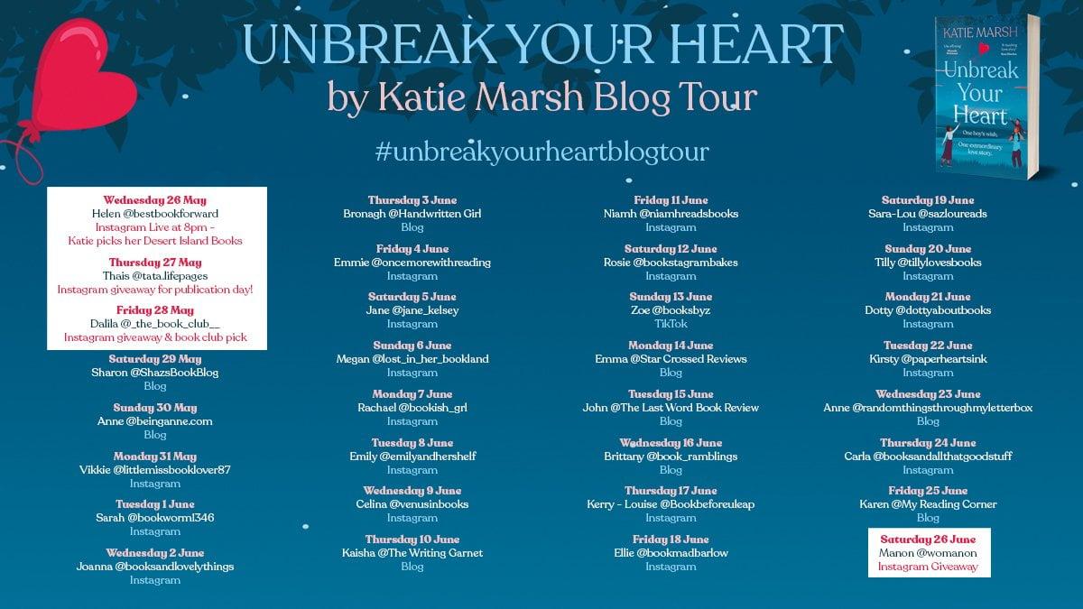 Unbreak Your Heart – Katie Marsh