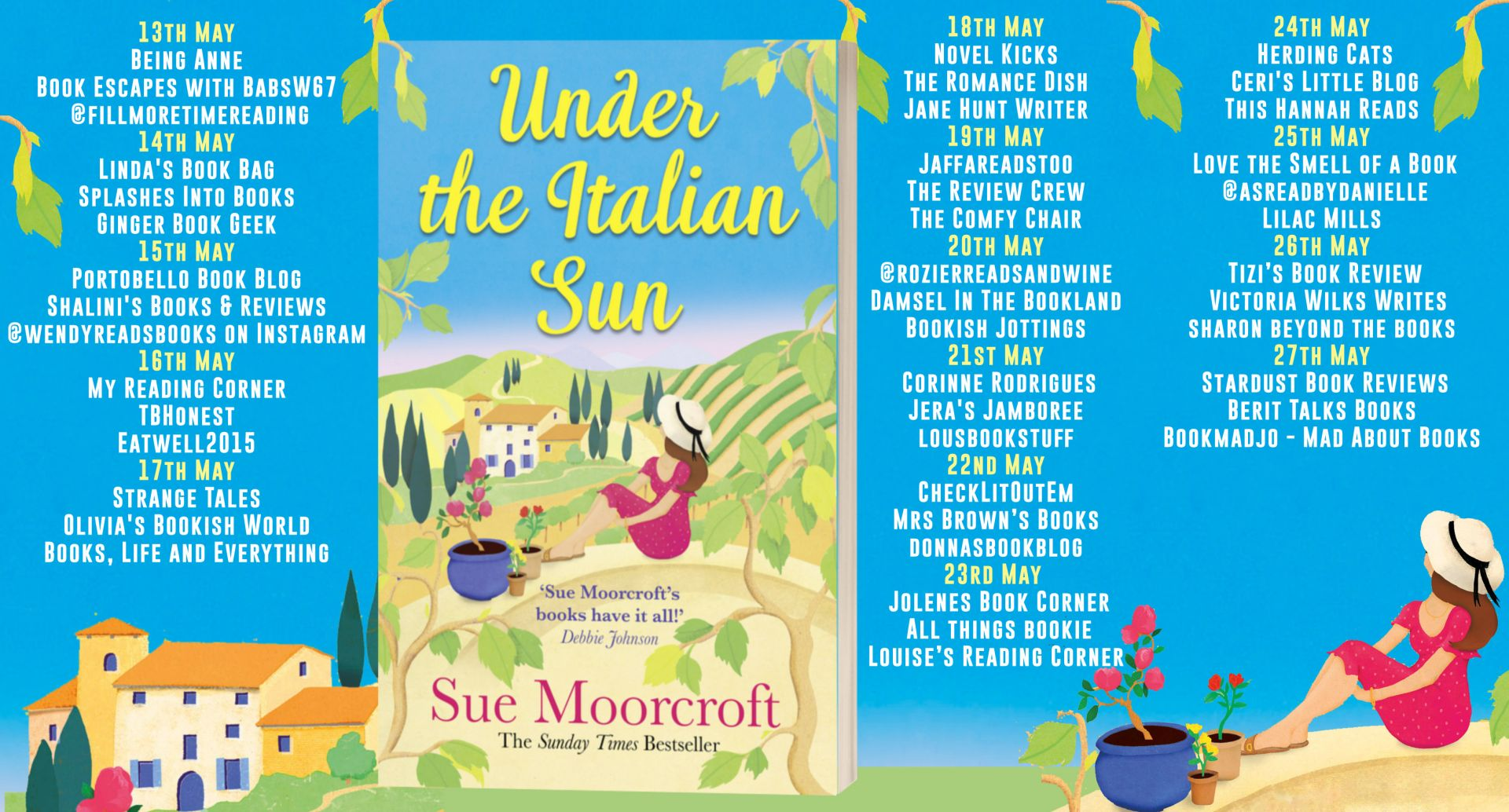 Under The Italian Sun – Sue Moorcroft