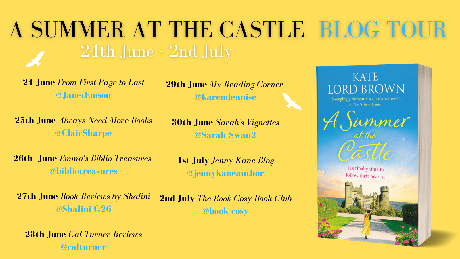 A Summer At the Castle – Kate Lord Brown