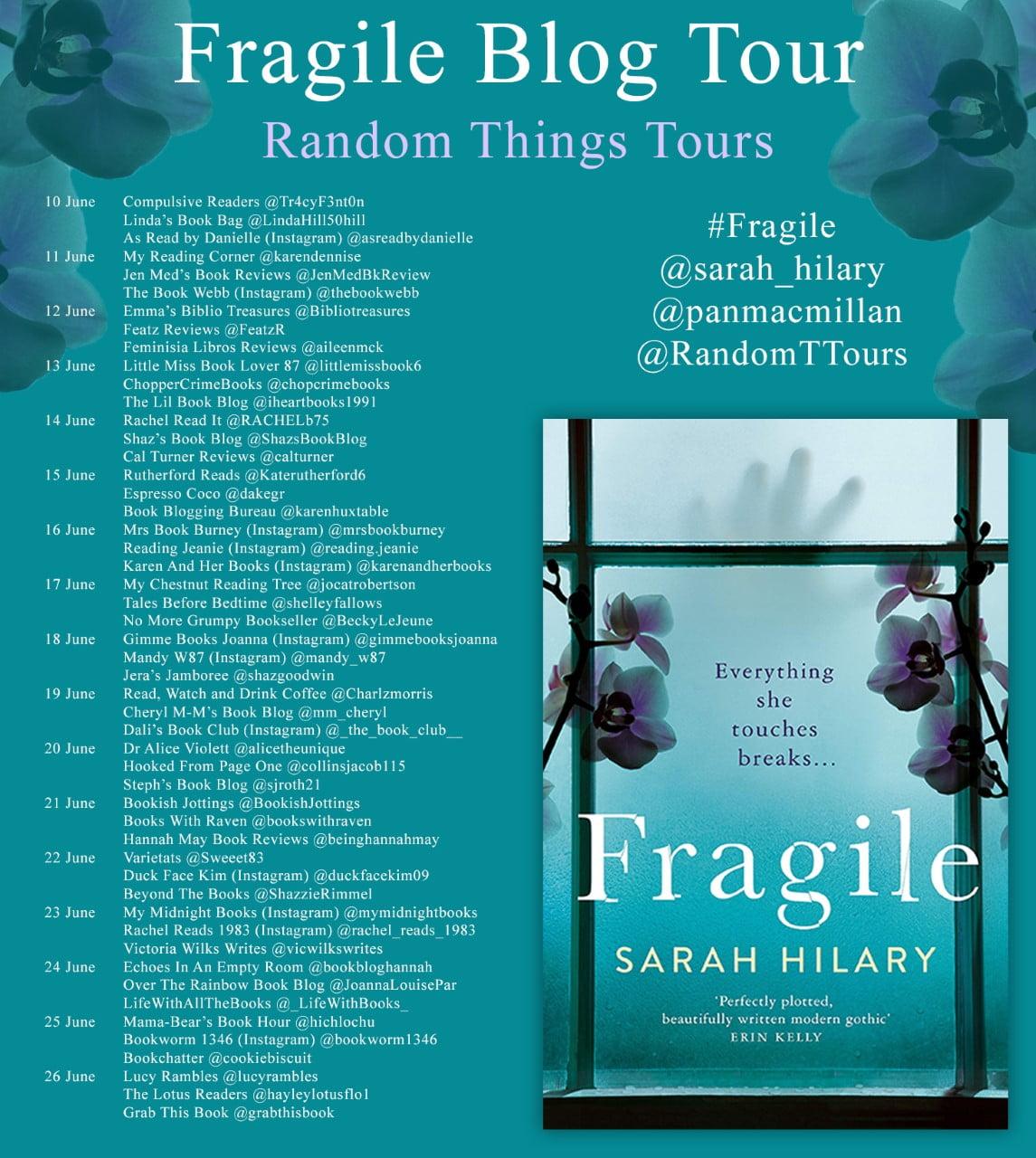 Fragile – Sarah Hilary