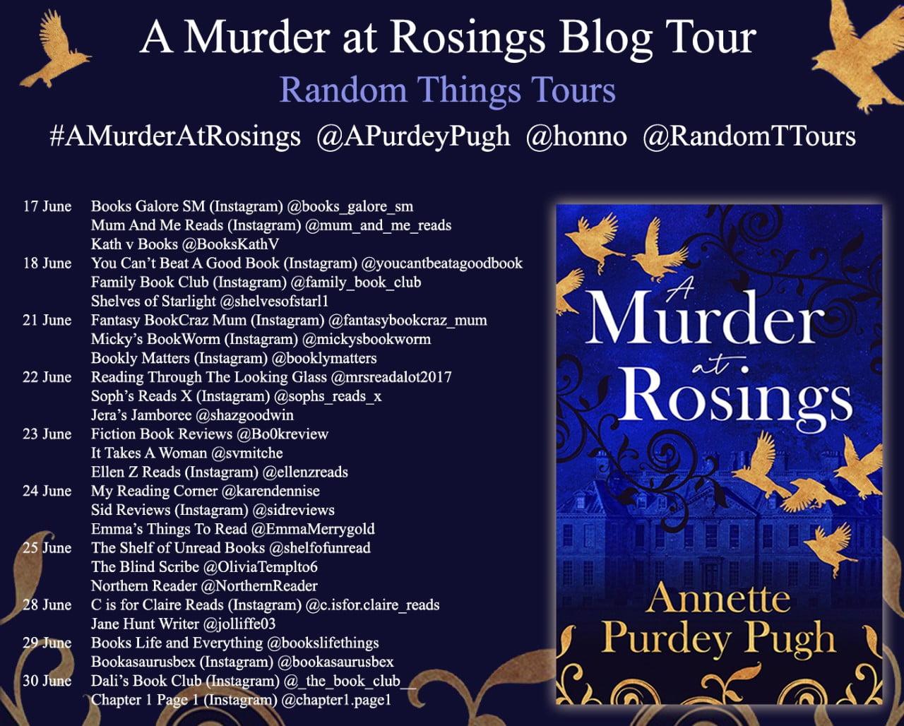Murder at Rosings – Annette Purdey Pugh