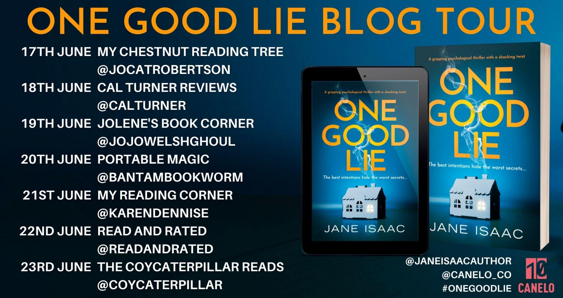 One Good Lie – Jane Isaac