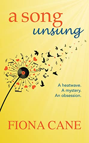 A Song Unsung by Fiona Cane | Book Review  | #ASongUnsung  |  1950's Jazz and the Summer of '76